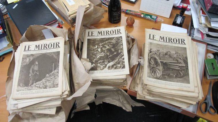 Le Miroir : de nouveaux exemplaires en don à la SFP