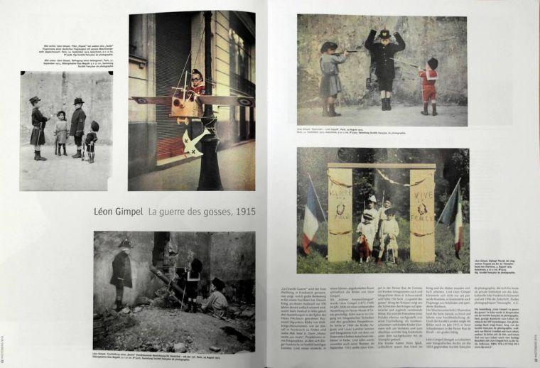 PHOTONEWS OFFRE UNE DOUBLE GRANDE PAGE A LA GUERRE DES GOSSES (septembre 2014)