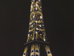 FRSFP_0806im_A_0406 - Léon GIMPEL - Paris, 25 octobre 1925 -Illuminations, Tour Eiffel, Citroën
